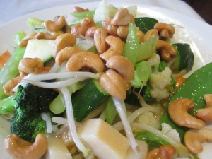 Vegetables with Cashews